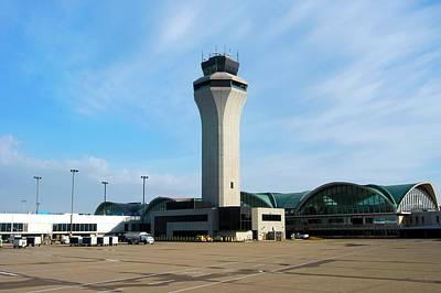 Atc Photograph - St. Louis Airport by Mark Williamson