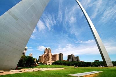 Photograph - St. Louis Arch by Eric Dewar
