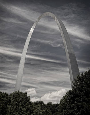 Photograph - St Louis Arch In The Afternoon  by Garry McMichael