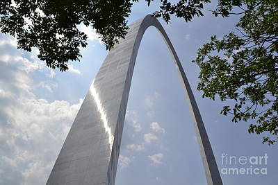 Photograph - St. Louis Arch by Utopia Concepts