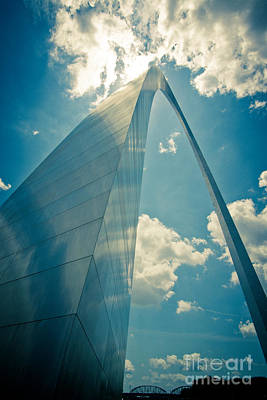 Photograph - St. Louis Arch by Will Cardoso