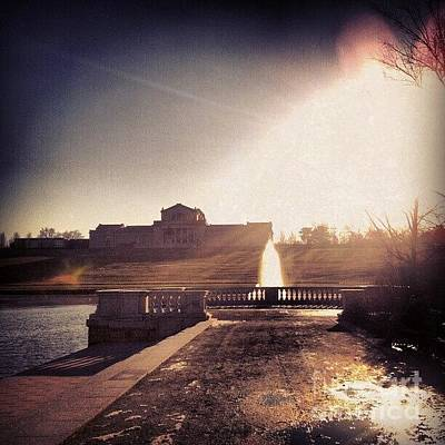 Photograph - St. Louis Art Museum At Grand Basin by Genevieve Esson