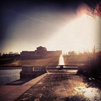 Skylines Wall Art - Photograph - St. Louis Art Museum by Genevieve Esson
