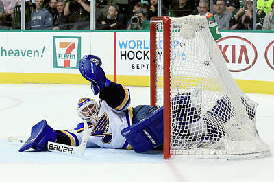 Photograph - St Louis Blues V Dallas Stars - Game Two by Tom Pennington