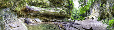 Starved Rock Wall Art - Photograph - St. Louis Canyon At Starved Rock by Twenty Two North Photography