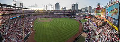 Photograph - St. Louis Cardinals Pano 2 by David Haskett II