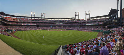 Photograph - St. Louis Cardinals Pano 3 by David Haskett II
