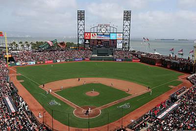 Photograph - St. Louis Cardinals V. San Francisco by Brad Mangin