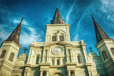 Photograph - St. Louis Cathedral by Brenda Bryant