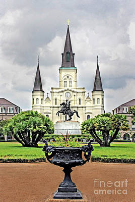 Design Pics - St. Louis Cathedral by Dave Stegmeir