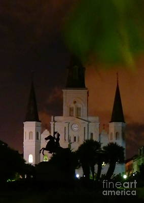 Photograph - St. Louis Cathedral by Michael Hoard