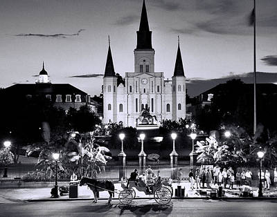 Photograph - St. Louis Cathedral New Orleans by Allen Beatty