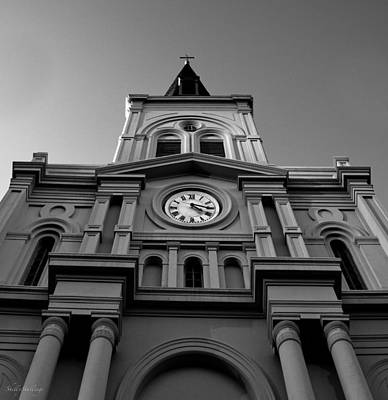 St. Louis Cathedral Perspective Art Print