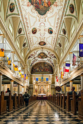 St. Louis Cathedral Art Print by Steve Harrington