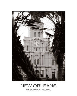 Photograph - St. Louis Cathedral by Val Stone Creager