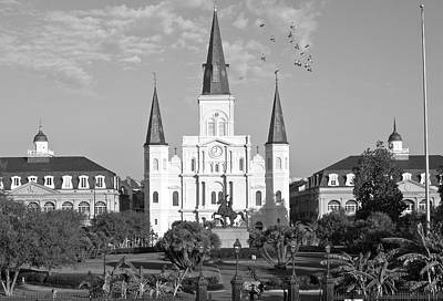 Photograph - St. Louis Cathedral by Victoria Lakes