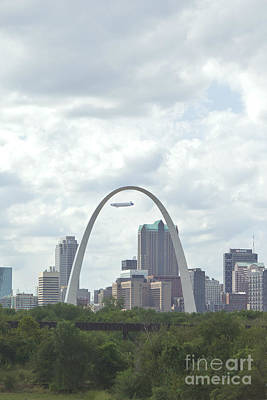 Photograph - St. Louis Cityscape by Kay Pickens