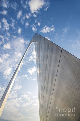 Photograph - St. Louis Gateway Arch Encounter by David Haskett