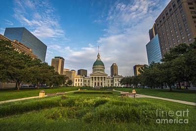 Merica Photograph - St. Louis Missouri 8949 by David Haskett