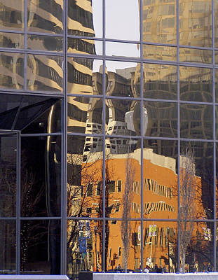Photograph - St. Louis Reflection by Jane Eleanor Nicholas