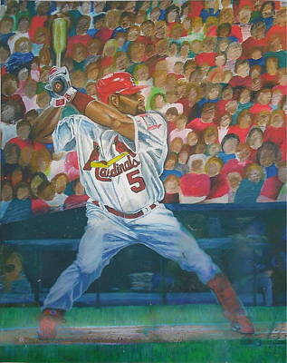 Painting - St. Louis Style by Jen Sparks
