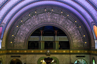 Photograph - St. Louis Union Station Grand Hall Dsc00333 by Greg Kluempers