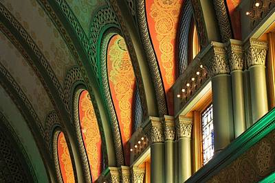 Photograph - St Louis Union Station In Color by Jenny Hudson