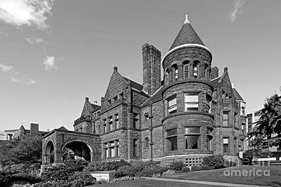 St. Louis University Samuel Cupples House Art Print by University Icons