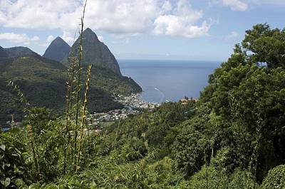 Photograph - St Lucia Fishing Village by John Noel