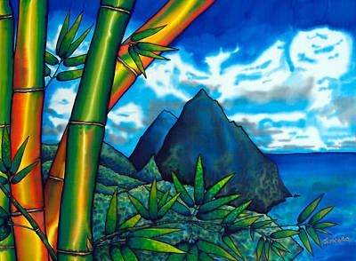 St. Lucia Pitons Art Print