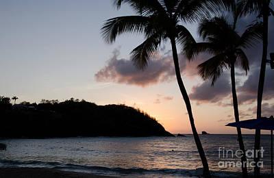 Photograph - St. Lucian Sunset by Laurel Best