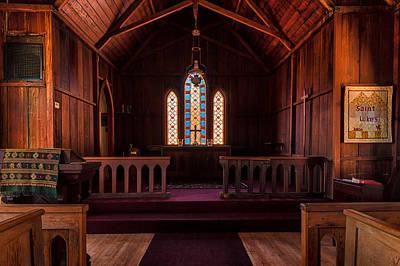 Photograph - St. Luke's by Thomas Hall