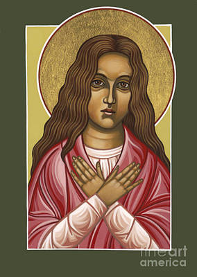 Painting - St. Maria Goretti Patroness Of Abused Children 067 by William Hart McNichols