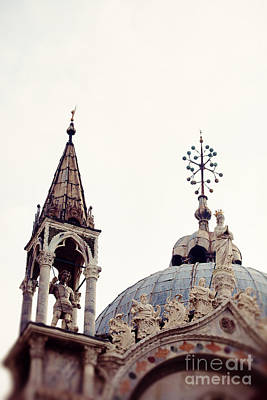 Venice Italy Photograph - St Marks Basilica Dome by Erin Johnson