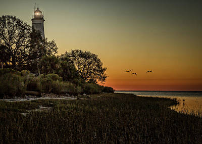 Landscape Photograph - St. Mark's Lighthouse by Erwin Spinner