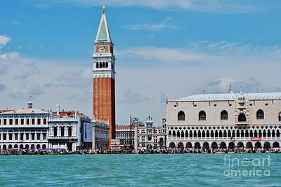 Art Print featuring the photograph St. Mark's Square by William Wyckoff