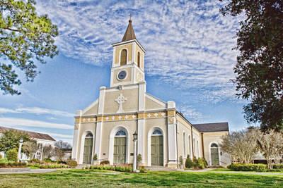 South Louisiana Photograph - St. Martin De Tours by Scott Pellegrin