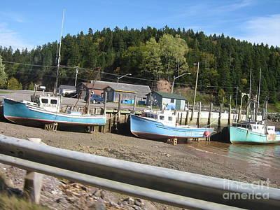 Photograph - St-martin's Fishing Fleet by Francine Heykoop