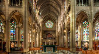 Photograph - St. Mary Cathedral Basilica Of The Assumption by Keith Allen