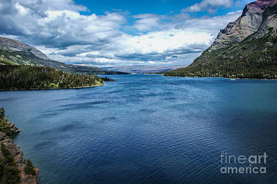 Photograph - St Mary Lake  by Jim McCain