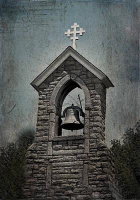 Photograph - St Mary Magdalene-aqua-aged by Lesa Fine