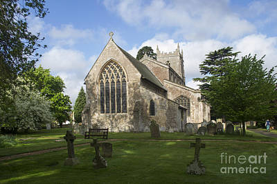 St Mary Magdalene Church Brampton Cambridgeshire England Print by Keith Douglas