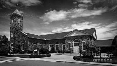 Photograph - St. Mary Of The Mills Laurel Maryland by Phil Cardamone