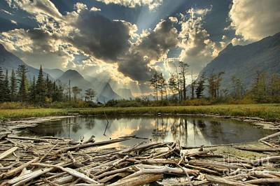 Photograph - St. Mary Pond by Adam Jewell