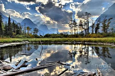 Photograph - St Mary Reflections by Adam Jewell