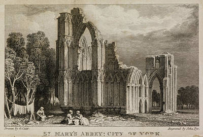 St Mary's Abbey Church Art Print
