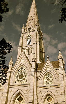 Photograph - St. Mary's Cathedral Basilica by Tracey McQuain