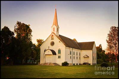 Religous Photograph - St. Mary's Chapel by Scott Pellegrin