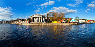 Marys Photograph - St Marys Church At The Waterfront by Panoramic Images