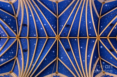 Photograph - St Marys Church Celling by Mark Dodd